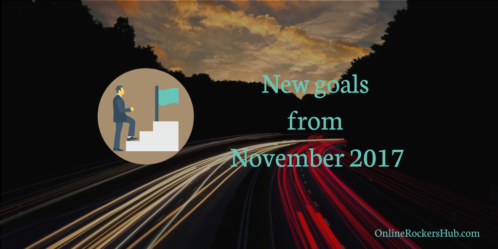 New goals from November 2017