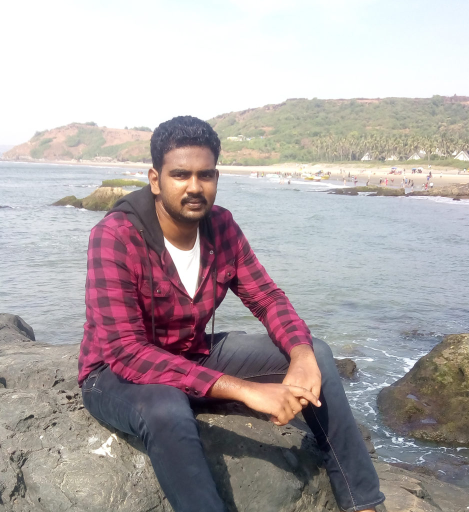 Nirmal Kumar at Baga Beach