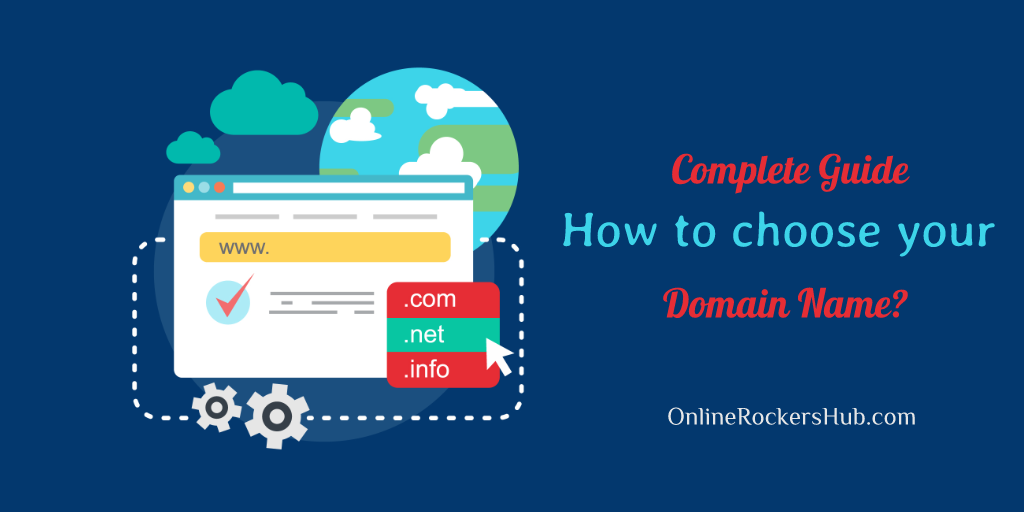 How to choose domain name
