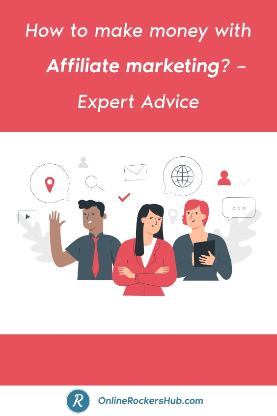 How to make money with affiliate marketing_ – Expert Advice - Pinterest Image