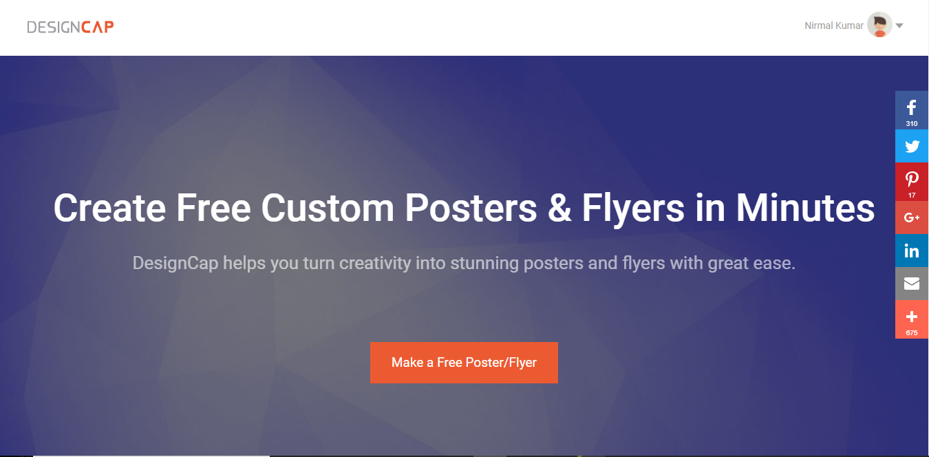 DesignCap Review: Start Making Posters and Flyers at DesignCap