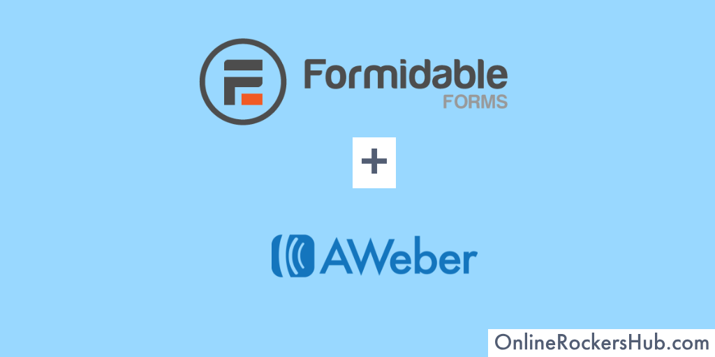 How to Integrate Formidable Forms with AWeber?