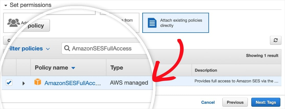 aws policy