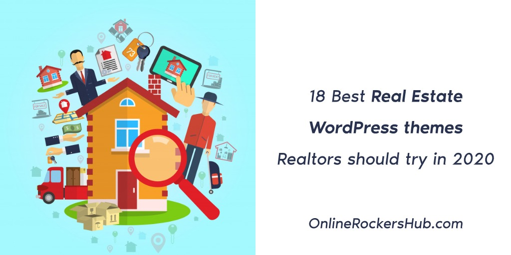 18 Best Real Estate WordPress themes Realtors should try in 2020