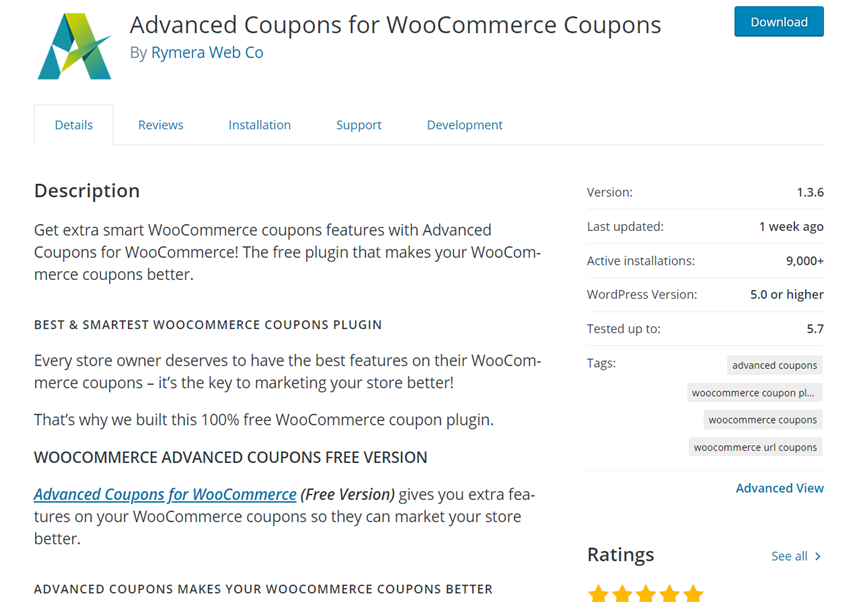advanced coupons lite